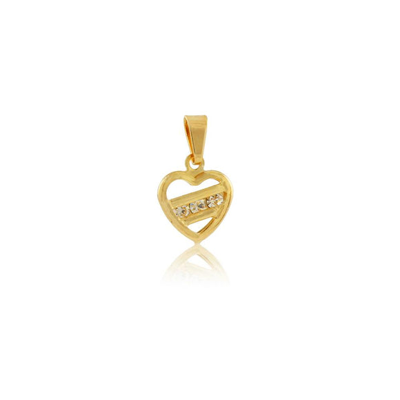 26043 18K Gold Layered Pendant