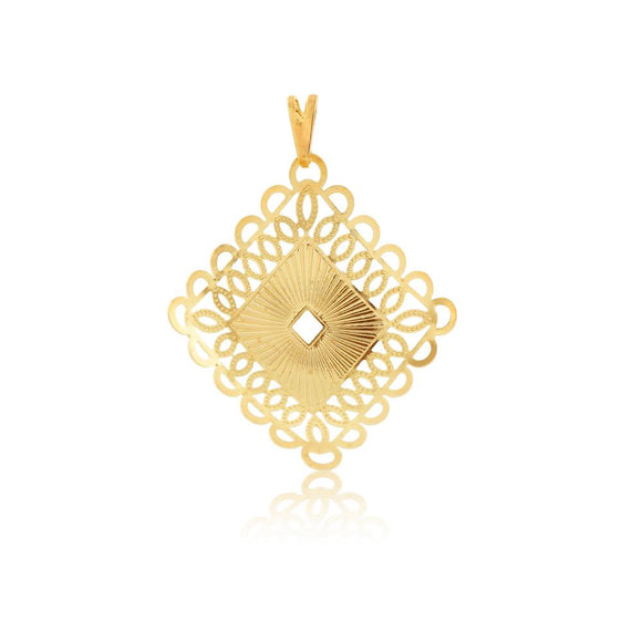 26073 18K Gold Layered Pendant