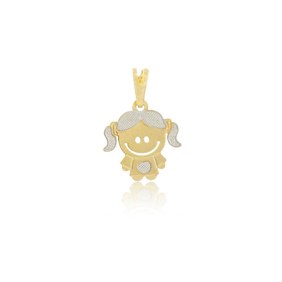 26092 18K Gold Layered Pendant