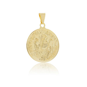 26126 18K Gold Layered Pendant