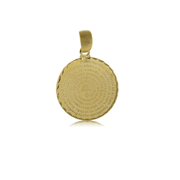 26128 18K Gold Layered Pendant