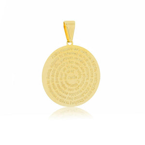 26131 18K Gold Layered Pendant