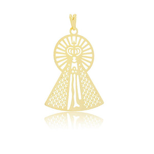 26159 18K Gold Layered Pendant