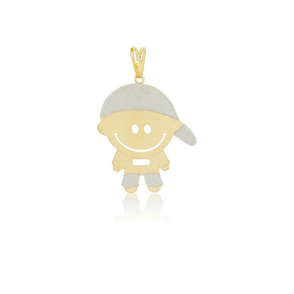 26163 18K Gold Layered Pendant