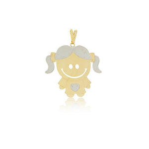 26164 18K Gold Layered Pendant