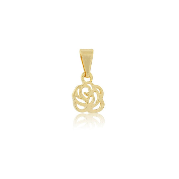 26176 18K Gold Layered Pendant