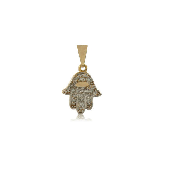 26185 18K Gold Layered Pendant