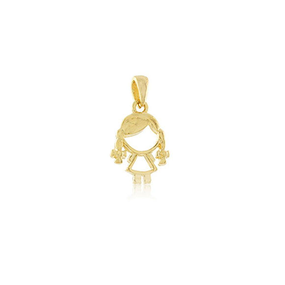 26188 18K Gold Layered Pendant