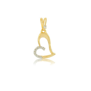 26194 18K Gold Layered Pendant