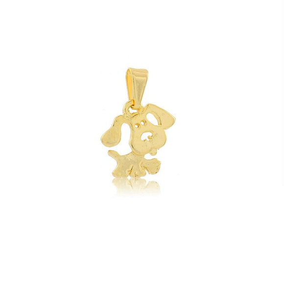26204 18K Gold Layered Pendant