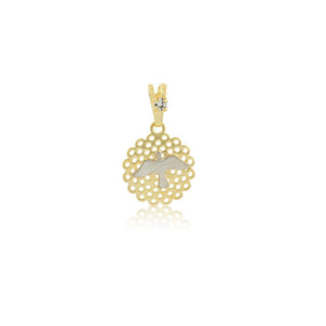 26208 18K Gold Layered Pendant