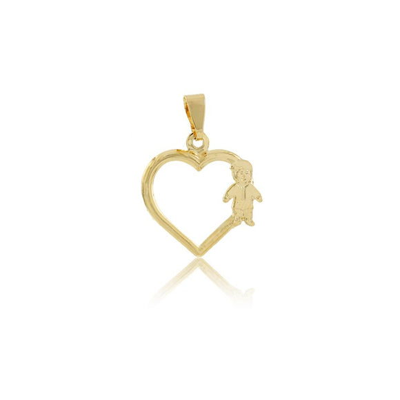 26222 18K Gold Layered Pendant