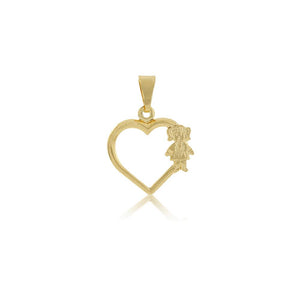 26223 18K Gold Layered Pendant