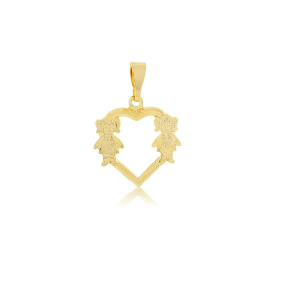 26227 18K Gold Layered Pendant