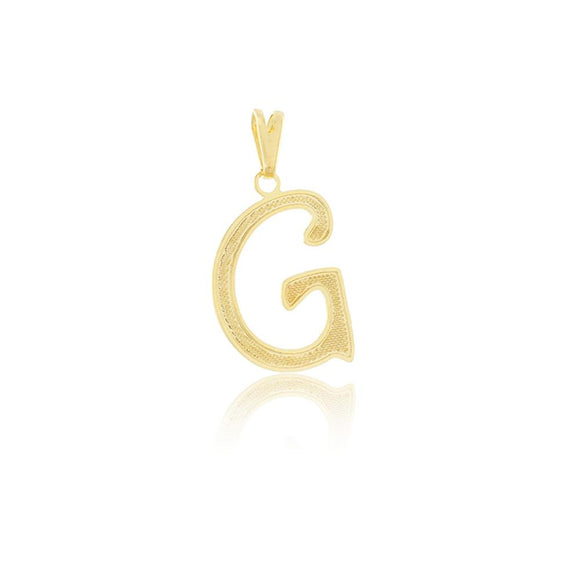 26273 18K Gold Layered Pendant
