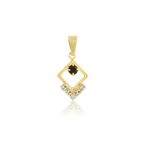 26293 18K Gold Layered Pendant