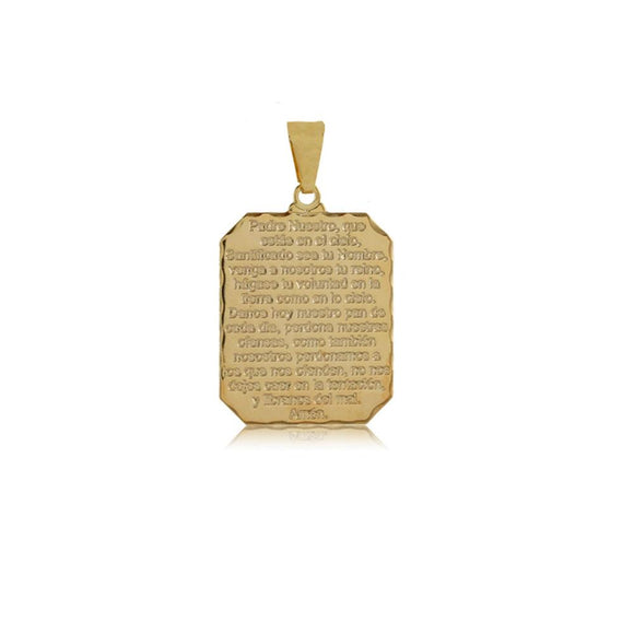 26303 18K Gold Layered Pendant