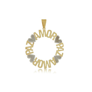 26315 18K Gold Layered Pendant