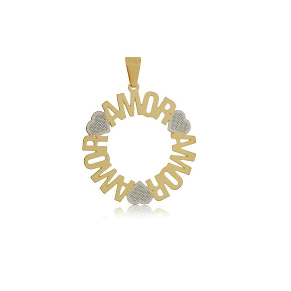 26317 18K Gold Layered Pendant