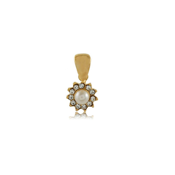 26321 18K Gold Layered Pendant