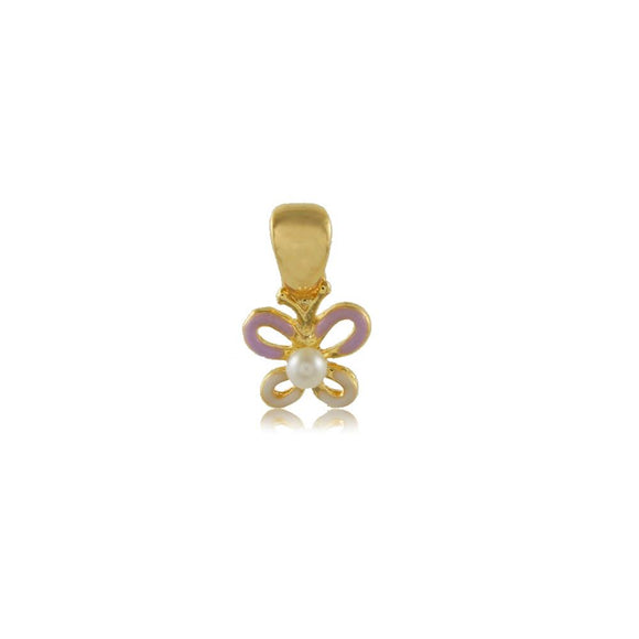 26335 18K Gold Layered Pendant