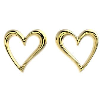 30033 18K Gold Layered Earring