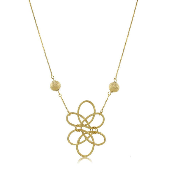 30047R 18K Gold Layered  Necklace