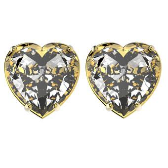 30071 18K Gold Layered CZ Earring