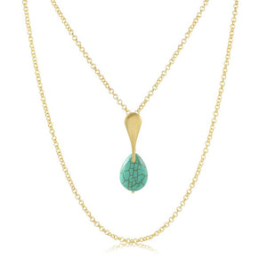 30111R 18K Gold Layered Necklace 50cm/20in