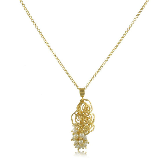 30119R 18K Gold Layered Necklace 70cm/28in