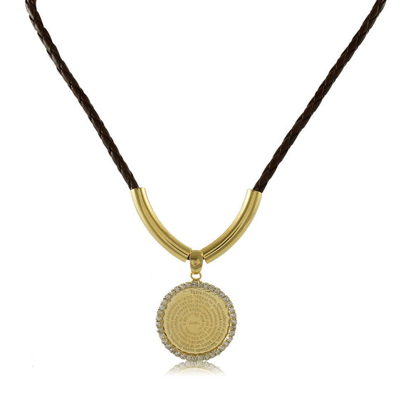 30135R 18K Gold Layered Necklace 45cm/18in