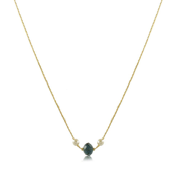30150R 18K Gold Layered Necklace 45cm/18in