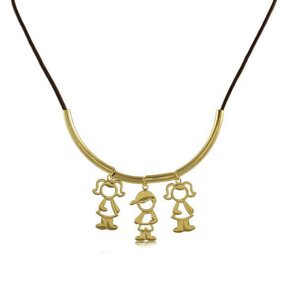 30167R 18K Gold Layered Necklace 45cm/18in