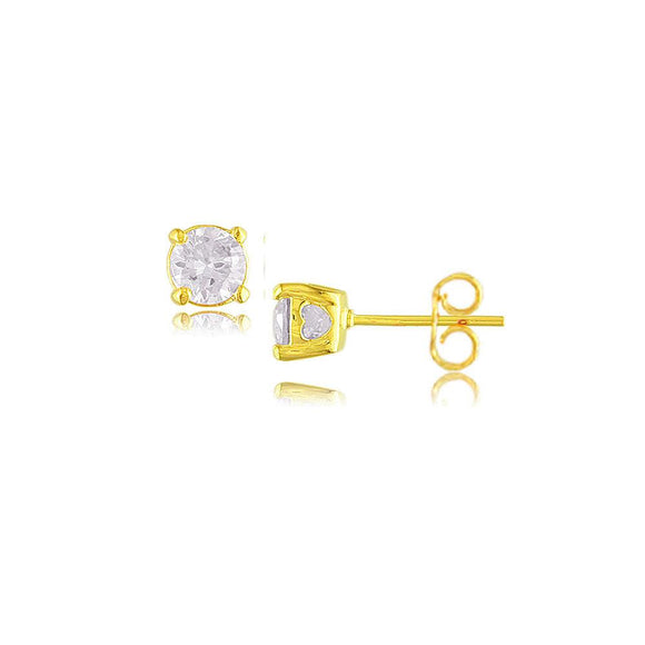 30365 18K Gold Layered CZ Earring