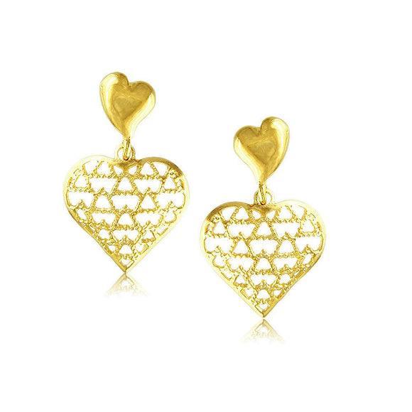 30375 18K Gold Layered Earring