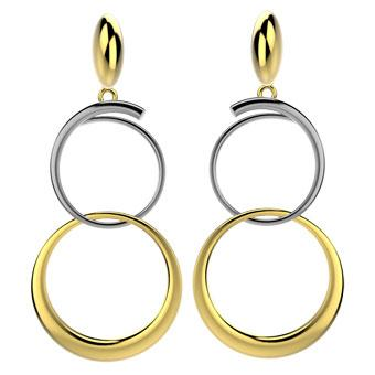 30466 18K Gold Layered Earring
