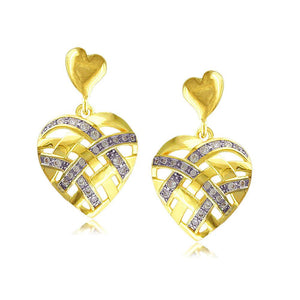 30514 18K Gold Layered Earring