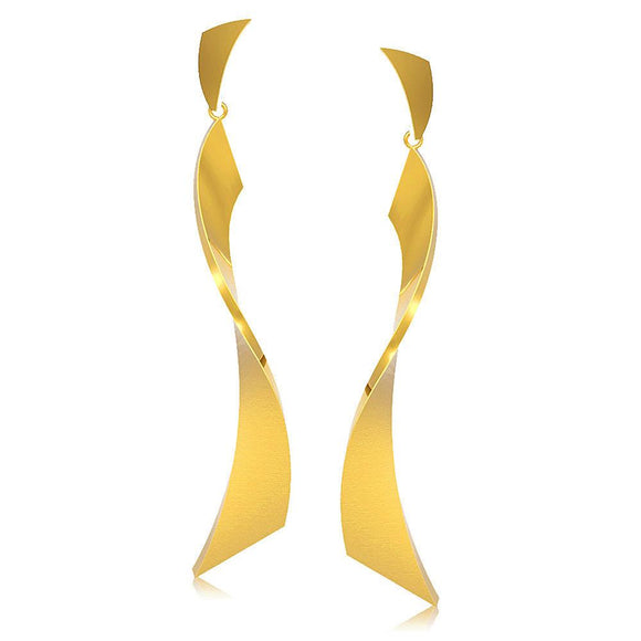 30969 18K Gold Layered Earring