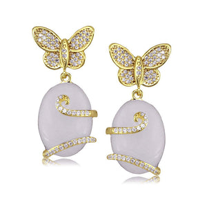 31064 18K Gold Layered Earring