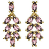 31481 18K Gold Layered CZ Earring