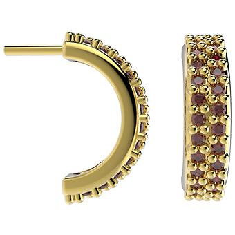 31561 18K Gold Layered CZ Earring