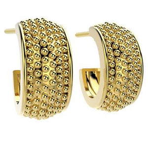 31773 18K Gold Layered Earring