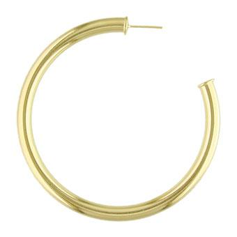 35280 18K Gold Layered Hoop Earring