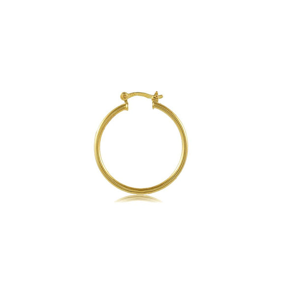 35397 18K Gold Layered Hoop Earring