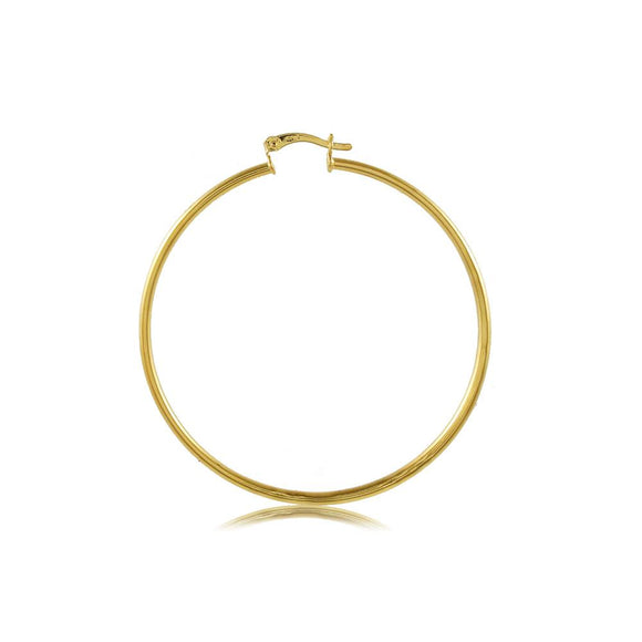 35400 18K Gold Layered Hoop Earring
