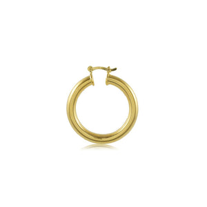 35413 18K Gold Layered Hoop Earring