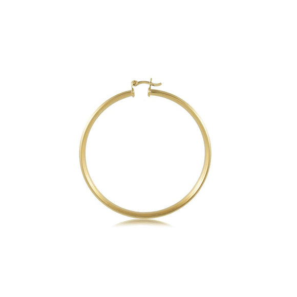 35466 18K Gold Layered Hoop Earring