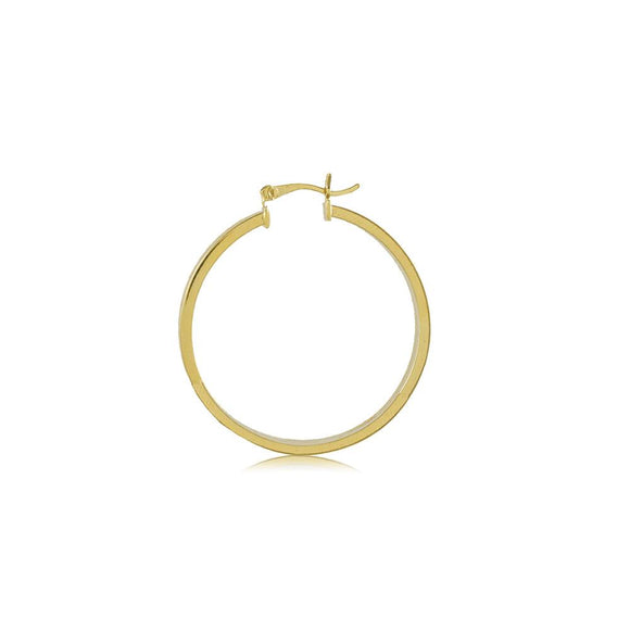 35510 18K Gold Layered Hoop Earring