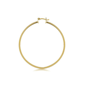 35512 18K Gold Layered Hoop Earring