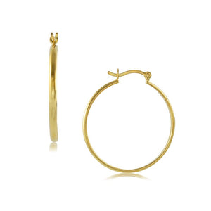 35677 18K Gold Layered Hoop Earring